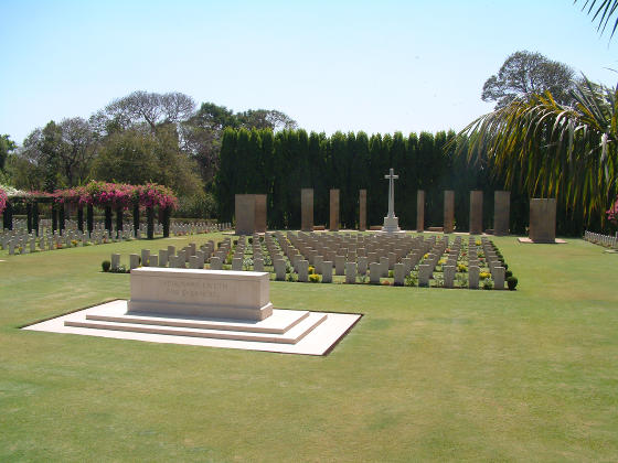A Commonwealth War Cemetery