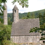 Stone church and tower